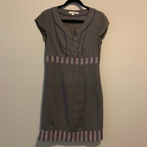 Boden Dress size 6 Regular Women grey